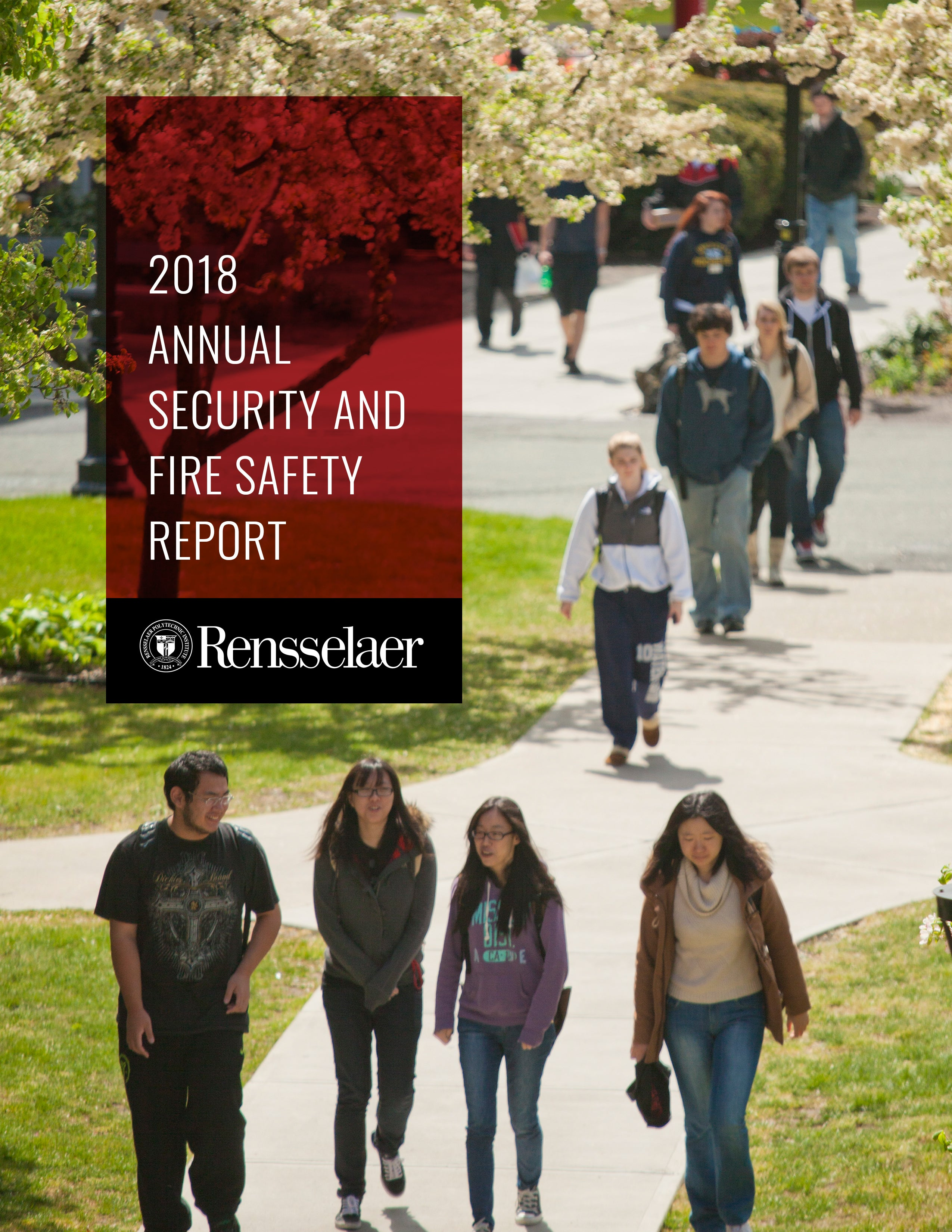 Cover image for the 2018 Annual SEcurity and Fire Safety Report